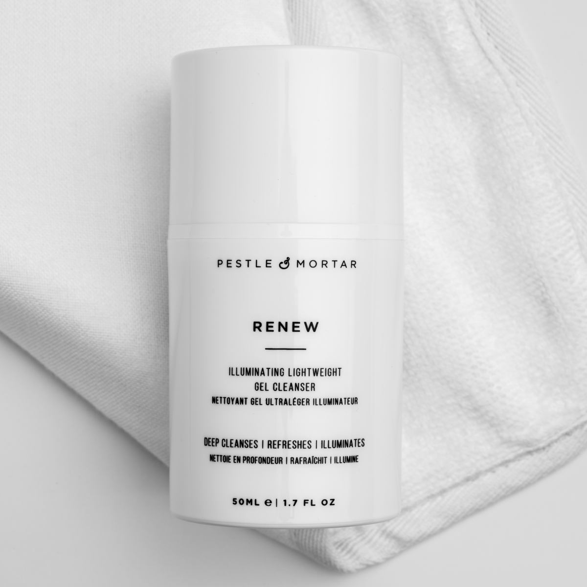 Renew Cleansing Gel - The Double Cleanse, Pestle & Mortar
